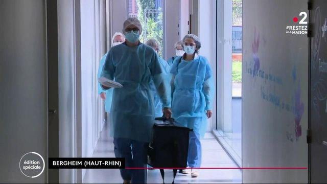 Coronavirus : le Haut-Rhin lance les premières campagnes de dépistage dans les Ehpad