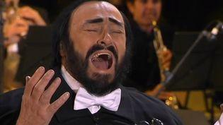 Le ténor italien Luciano Pavarotti. (France 2)