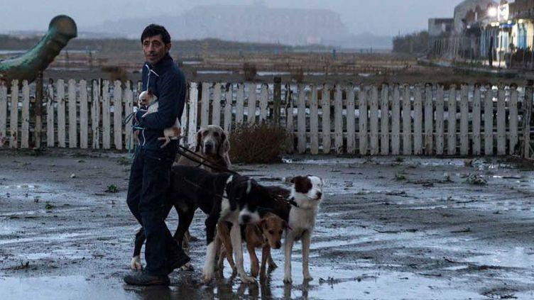 """Le casting du film """"Dogman"""" de Matteo Garrone a ébloui le jury qui lui a remis la Palm Dog ce vendredi à 13h.  (Le Pacte)"""