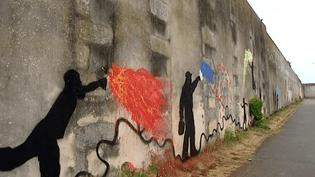 La fresque réalisée par les détenus de la Maison Centrale Saint-Martin-de-Ré  (Culturebox / capture d'écran)