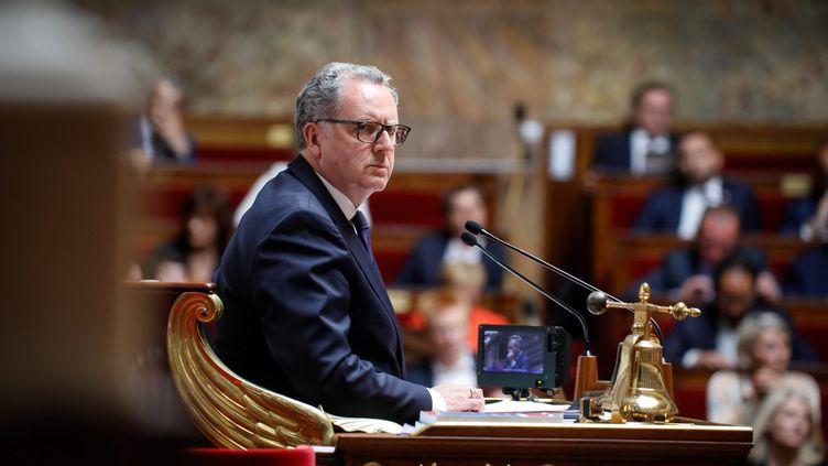 Richard Ferrand, lors d'une séance de questions au gouvernement, le 16 juillet 2019. (THOMAS PADILLA / MAXPPP)