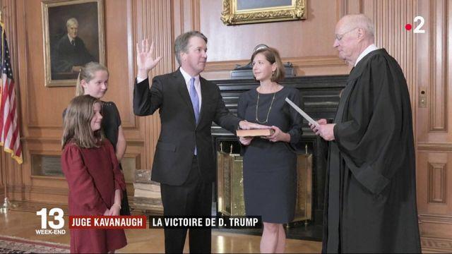 Juge Kavanaugh : la victoire de D.Trump
