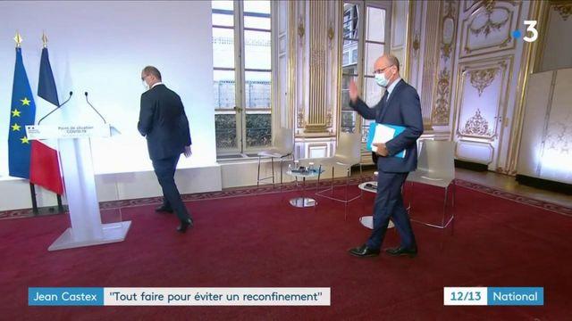 """Jean Castex : """"Tout faire pour éviter un reconfinement"""""""