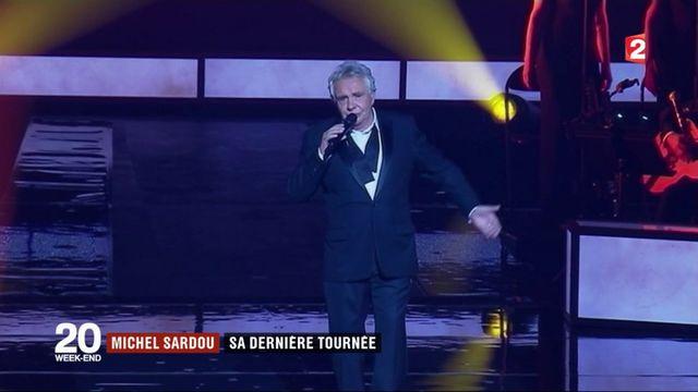 Michel Sardou : la dernière tournée d'un chanteur populaire