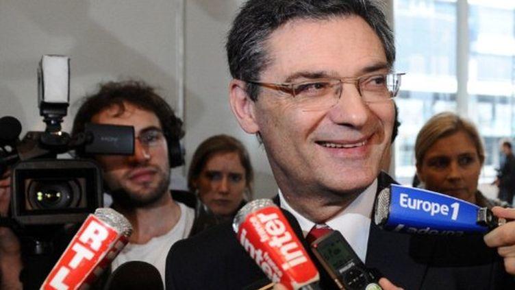 Patrick Dejedjian, président du conseil général des Hauts-de-Seine. (MIGUEL MEDINA / AFP)