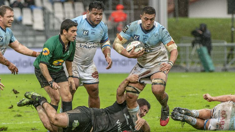 Sione Tau (Bayonne) (COUDERT/SPORTSVISION/SIPA)