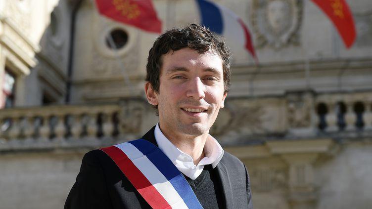 Le maire FN de Beaucaire, Julien Sanchez, le 24 février 2015. (PASCAL GUYOT / AFP)