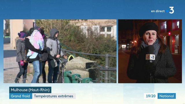 Grand froid : le nord-est de la France en proie à des températures glaciales
