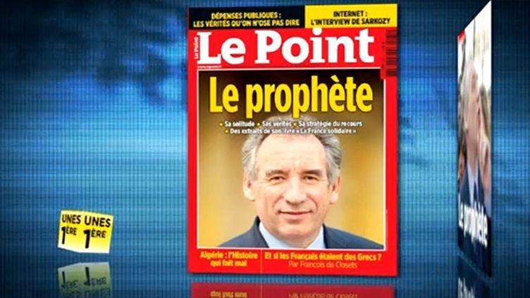 La revue de presse du vendredi 16 mars 2012. (CAPTURE D'ÉCRAN FTVI)