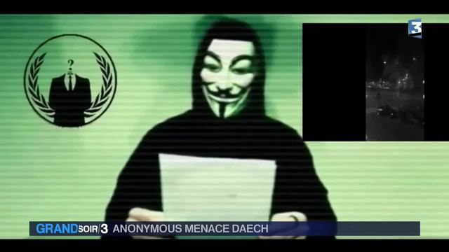 le collectif Anonymous menace Daech
