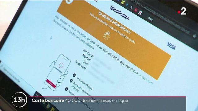 Carte bancaire : les données de 40 000 Français piratées et mises en ligne