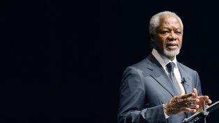L'ancien Secrétaire général des Nations Unis Kofi Annan, àGütersloh en Allemagne, le 7 novembre 2013. (CAROLINE SEIDEL / DPA)