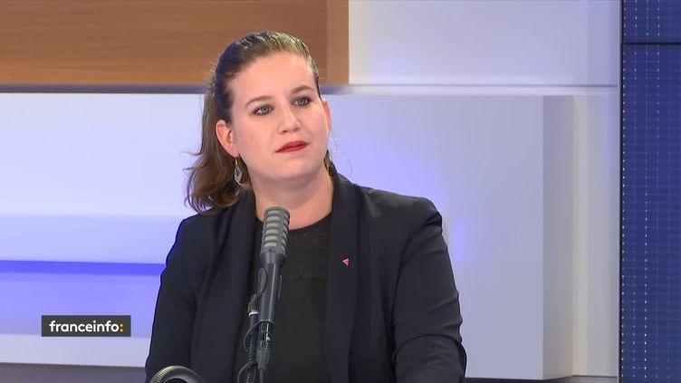 Mathilde Panot, députée La France insoumise du Val-de-Marne, sur franceinfo le 12 juin 2020. (FRANCEINFO / RADIOFRANCE)