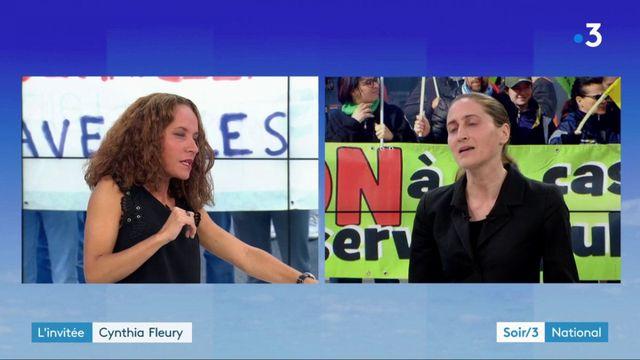 "L'invitée du Soir 3 - Cynthia Fleury : ""Macron veut reprendre la main"""