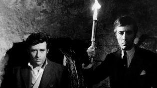 """Christopher Lee (D) dans """"La Crypte du vampire"""" de Camillo Mastrocinque  (Artus Films)"""