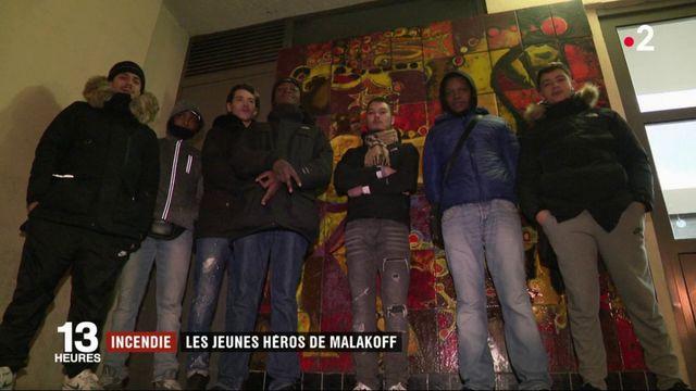 Incendie : les jeunes héros de Malakoff