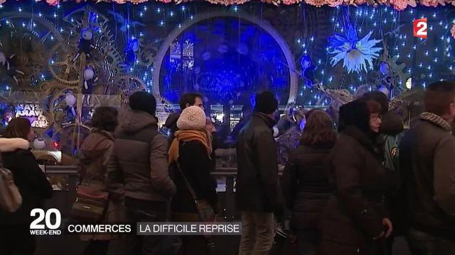Attentats de Paris : des commerçants inquiets