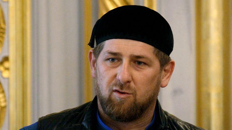 Razman Kadyrov, le président tchétchène.  (SAID TCARNAEV / RIA NOVOSTI)