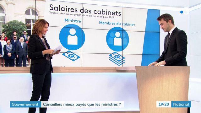 Gouvernement : des conseillers mieux payés que les ministres ?