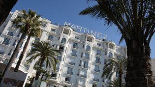 L'hôtel Martinez à Cannes. (VALERY HACHE / AFP)