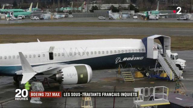 Boeing 737 Max : les sous-traitants français inquiets