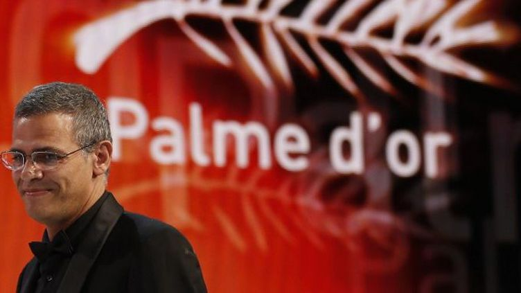 """Abdellatif Kechiche, Palme d'Or pour """"La Vie d'Adèle""""  (Valérie Hache / AFP)"""