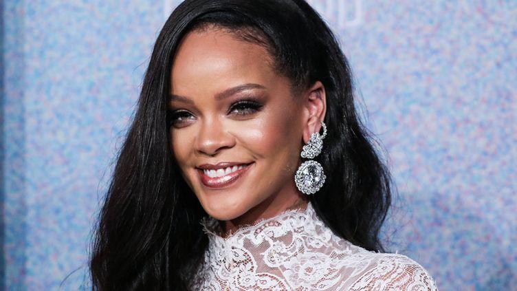 La chanteuse Rihanna lors dela 4e édition du Diamond Ball au profit de la Fondation Clara Lionel en 2018, à Manhattan. (IMAGE PRESS AGENCY / NURPHOTO)