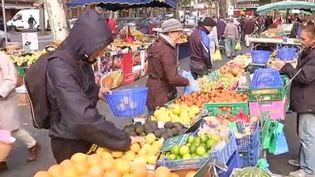 Capture d'écran du marché de Toulouse (Haute-Garonne) jeudi 15 octobre 2015. ( FRANCE 2 / FTVI)