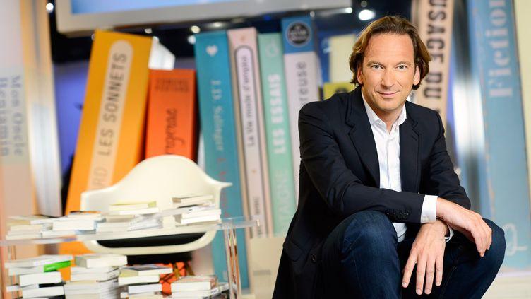 """François Busnel présente chaque jeudi """"La Grande Librairie"""" sur France 5  (Jean-Philippe BALTEL/FTV/SIPA)"""