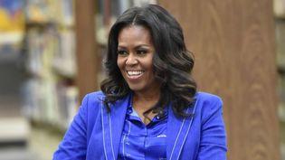 Michelle Obamaparle de ses mémoiresà une table ronde avec des étudiants à Chicago  (Rob Grabowski / AP / SIPA)