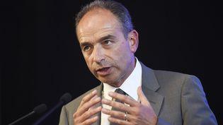 Jean-François Copé, député UMP de Seine-et-Marne, le 11 juin 2014, lors d'un meeting à Aulnay-sous-Bois (Seine-Saint-Denis). (ERIC FEFERBERG / AFP)