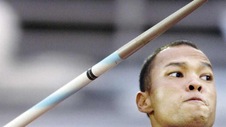 L'athlète Bryan Clay à Helsinki en août 2005. (ERIC FEFERBERG / AFP)
