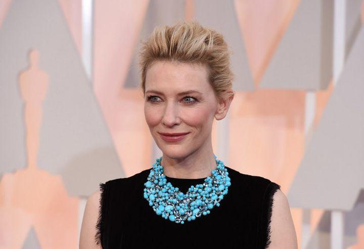 Cate Blanchett aux Oscars 2015  (MARK RALSTON / AFP)