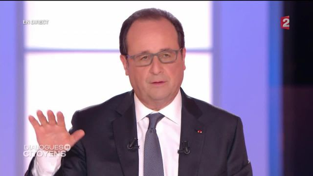 """""""Dialogues citoyens"""" :  Hollande et le voile islamique"""