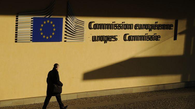 Le siège de la Commission européenne, à Bruxelles (Belgique), le 5 mars 2013. (JOHN THYS / AFP)