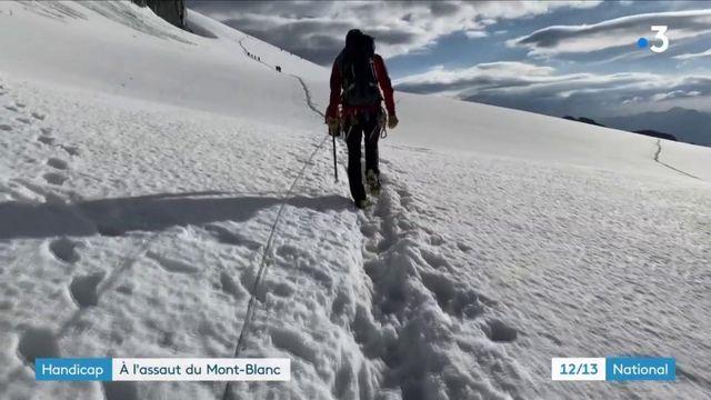 Amputés, ils partent à l'assaut du Mont-Blanc