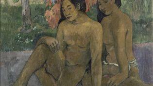 """Paul Gauguin (1848-1903), """"Et l'or de leur corps"""", 1901. Musée d'Orsay, Paris. Huile sur toile. 67 x 79 cm. (RMN-GRAND PALAIS (MUSÉE D'ORSAY) / HERVÉ LEWANDOWSKI)"""