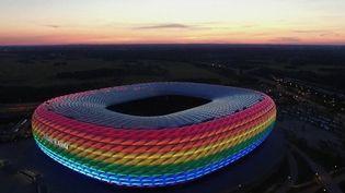 Euro 2021 : à Munich, l'arc-en-ciel en soutien à la communauté LGBT fait polémique (France 2)