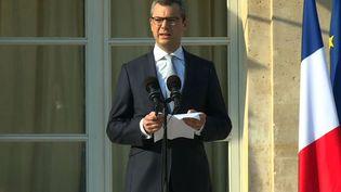 Alexis Kohler, secrétaire général de l'Elysée, à Paris, le 21 juin 2017. (DAVID CANTINIAUX / AFPTV)
