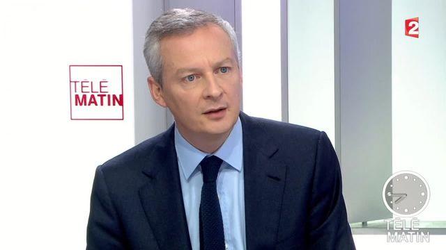 """Bruno Le Maire trouve """"indigne"""" que Jean-Yves Le Drian reste ministre tout en étant président de la Bretagne"""