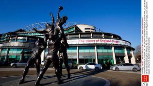 Le stade de Twickenham, antre du XV de la Rose, près de Londres (Royaume-Uni), le 20 janvier 2017. (SECONDS LEFT/SHUTTERSTO/SIPA / REX)