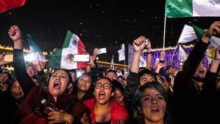 Élu président du Mexique, Andrés Manuel Lopez Obrador promet de lutter contre la corruption. (GUILLERMO ARIAS / AFP)