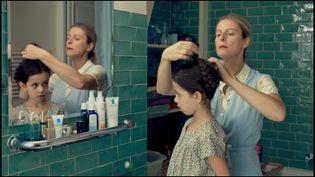 """En salles mercredi 27 novembre, """"Chanson douce"""", réalisé par Lucie Borleteau, met en scène une Karin Viard plus vraie que nature dans le rôle d'une nourrice idéale, qui se transforme peu à peu en un personnage terrifiant. (Copyright Studio Canal)"""
