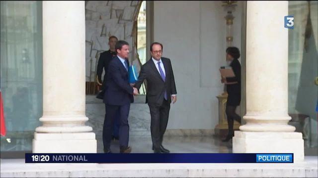Les retrouvailles tendues de François Hollande et Manuel Valls