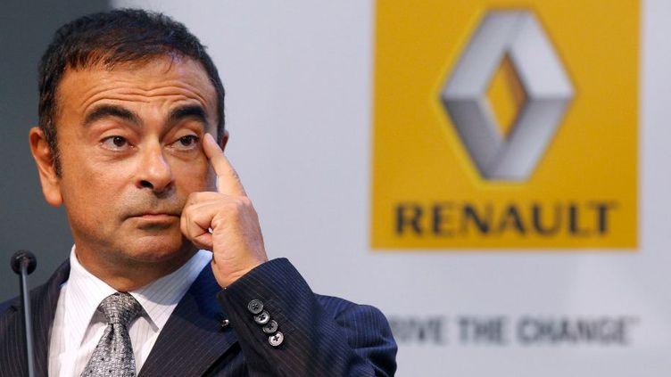 Le PDG du groupe Renault-Nissan, Carlos Ghosn, le 12 septembre 2011.