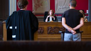 Un juge des enfants en audience à Mulhouse (Haut-Rhin), le 26 juin 2013. (SEBASTIEN BOZON / AFP)