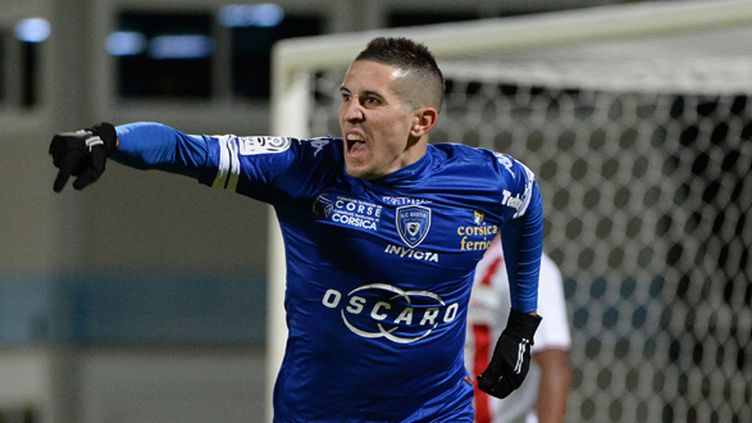 Florian Raspentino va rejoindre Caen (ANNE-CHRISTINE POUJOULAT / AFP)