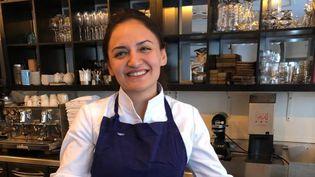 Beatriz Gonzalez, cheffe mexicaine qui a définitivement adopté la France, avec ses deux restaurants parisiens : Neva et Coretta. (BERNARD THOMASSON / RADIO FRANCE)