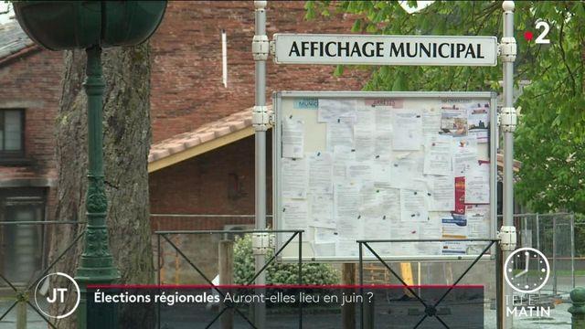 Régionales : les maires consultés sur leur tenue en juin
