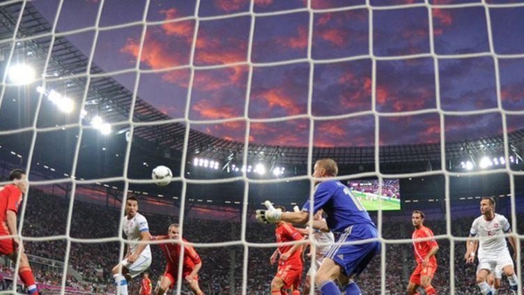 Le match avait vu la victoire sans conteste des Russes sur les Tchèques (4-1).
